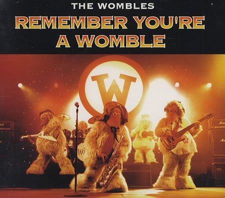 """For Sale - The Wombles Remember You're A Womble UK Promo  CD single (CD5 / 5"""") - See this and 250,000 other rare & vintage vinyl records, singles, LPs & CDs at http://991.com"""