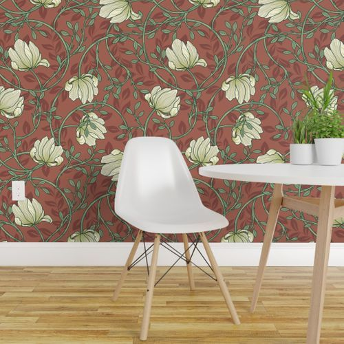 White Peonies Morris Garden Floral Wallpaper Wallpaper Perfect Wallpaper