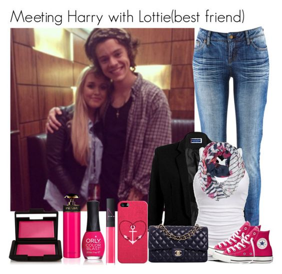 """""""Meeting Harry with Lottie(best friend)"""" by directioner-123-ii ❤ liked on Polyvore"""