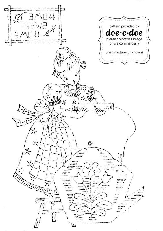 embroidery pattern | Embroidery | Pinterest | Dulce hogar, Verano y ...