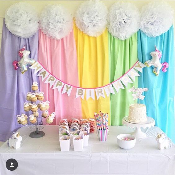 Thanks Mary Carter for sharing your stunning photo of your party! ✨#unicornparty