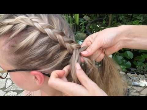 Hollandischer Zopf Bauernzopf Flechten Einfache Flecht Anleitung Youtube Anleitung Bauernzopf Einfache Flec Easy Braids Braided Hairstyles Dutch Braid