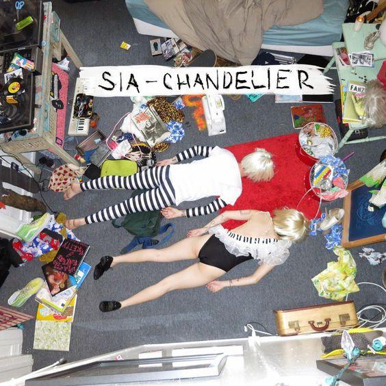Sia – Chandelier (single cover art)