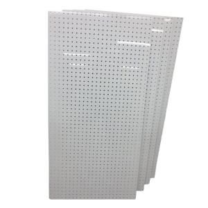 Azar Displays 22 In H X 27 In W X 125 D Acrylic Pegboard Kit 70 Pieces 900945 Wht The Home Depot In 2020 Peg Board Wall Storage Systems Craft Room Organization