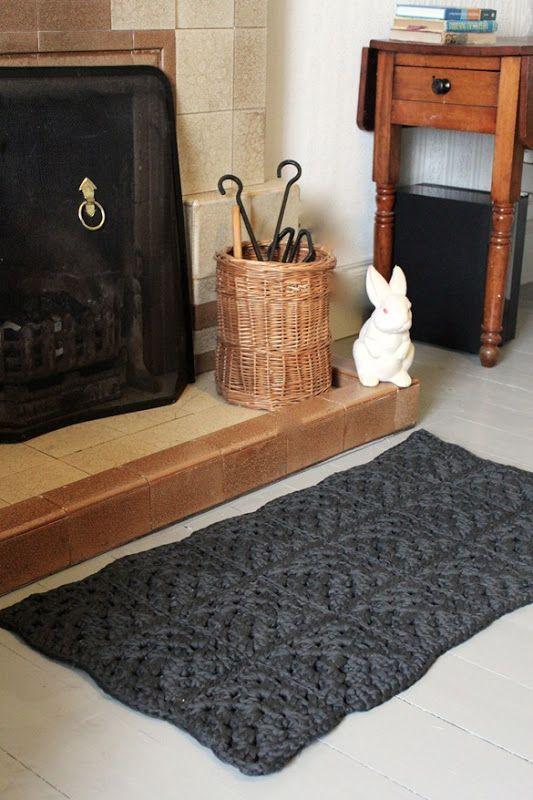 Granny Square Rug