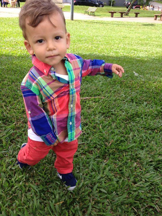 Lorenzo no parque !