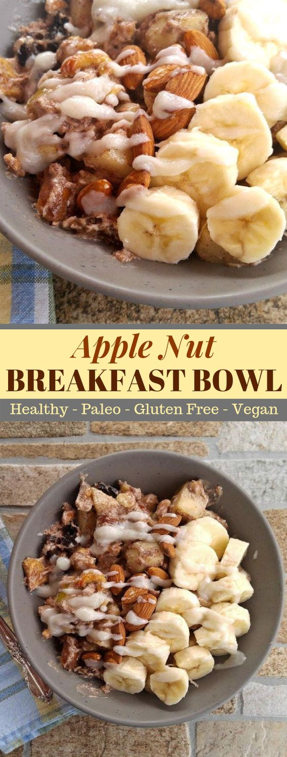 Healthy Breakfast Bowl – Paleo Gluten Free Breakfast Recipe #healthymeal #whole30