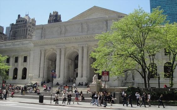 The Public Library of New York, U.S.A.