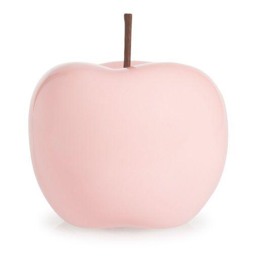 statuette pomme en polyr sine rose maison du monde wishlist pinterest roses pastel et chic. Black Bedroom Furniture Sets. Home Design Ideas