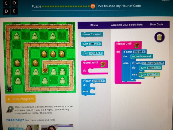 """Try """"One Hour of Code"""" (shown here) to start programming. The app dev team @ Mrs. Judd's Games encourages the learning of coding. We also make apps for those not yet ready on their own.  To teach kids/students to code visit: http://csedweek.org/educate/hoc"""