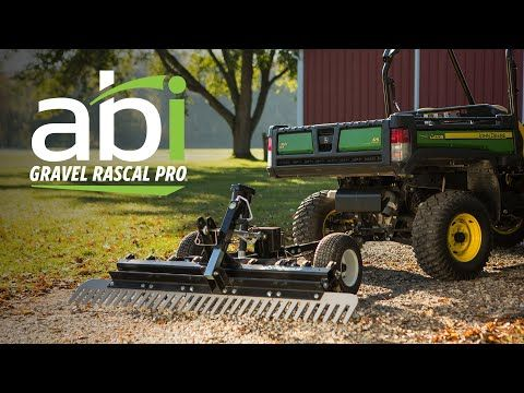 Atv Driveway Graders Gravel Rascal Abi Attachments Landscape Rake Sub Compact Tractors Tractors