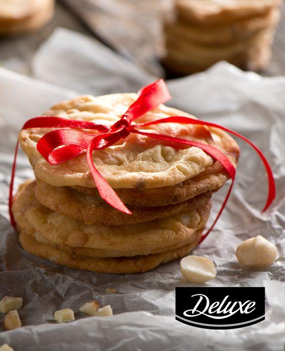Ciasteczka macadamia z białą czekoladą #lidl #przepis #ciasteczka #macadamia #czekolada #biała