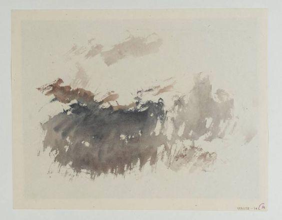 Joseph Mallord William Turner, 'Vignette Study; ?for Campbells Poetical Works' c.1835-6