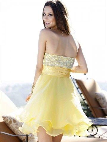 2012 Style A-line Sweetheart  Rhinestone Sleeveless Short / Mini  Chiffon  Cocktail Dresses / Homecoming Dresses
