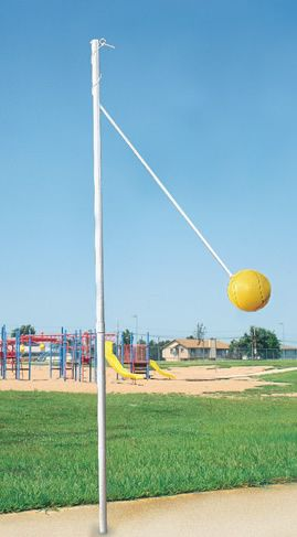 tetherball...I loved to play this especially at Camp Currie