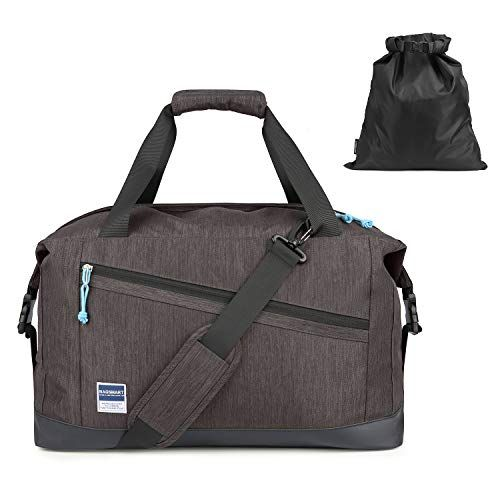 Travel Luggage Duffle Bag Lightweight Portable Handbag Dog Pattern Large Capacity Waterproof Foldable Storage Tote