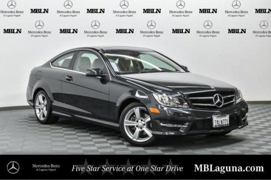 Coupe 2013 Mercedes Benz C 250 Coupe With 2 Door In Laguna Niguel Ca 92677 Benz Benz C Mercedes Benz