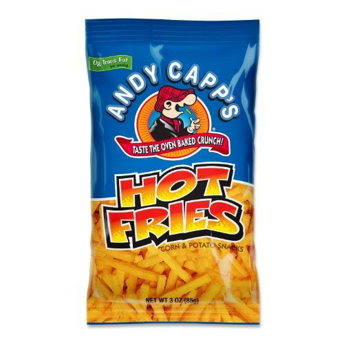 Andy Capp's hot fries...so worthy of being pinned! Best chips ever! Epicly addicting!