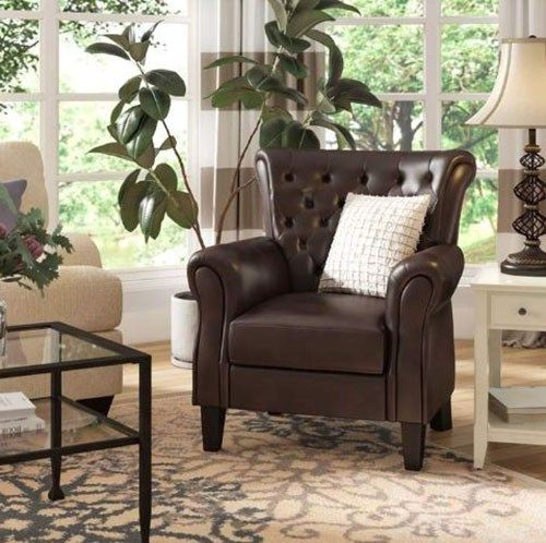 There Are Different Types And Models Of Accent Chairs In Order To Have The Ability To Use It Sensibly In Your Interio Accent Chairs Chair Leather Accent Chair Living room accent chairs ideas