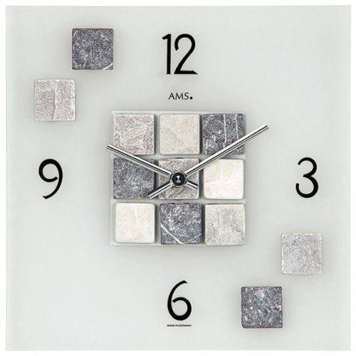 """Moderne Wanduhr """"Global"""" Mit 4 Uhrwerken Und Magneten Weltzeit"""