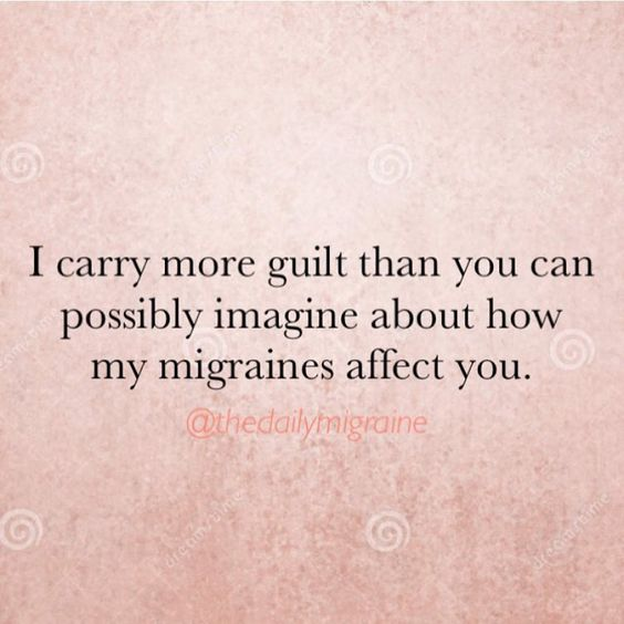 So true,  then the guilt turns into depression. ..