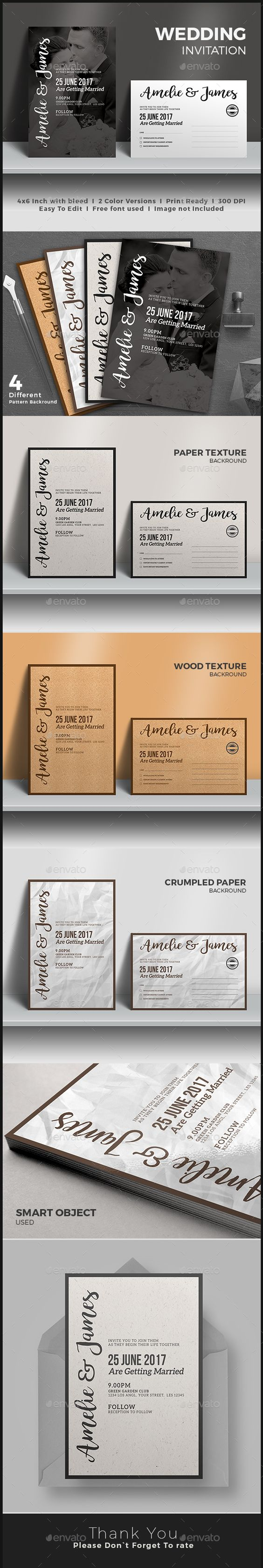 wedding invitation wedding invitations invitations and wedding wedding invitation psd template 10141 graphicriver net item wedding invitation 17118478 ref pxcr