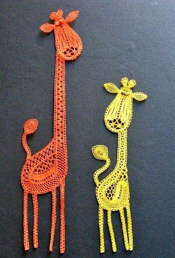 Girafas de Crochê
