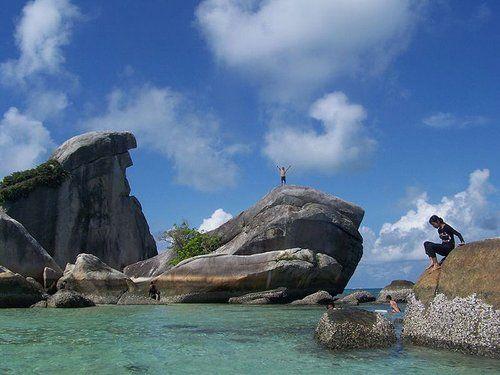 Pulau Burung, Bangka Belitung, beautiful places to visit in Indonesia.