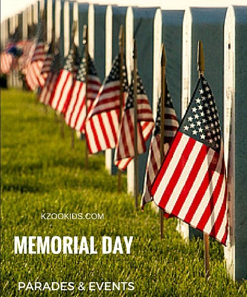 Memorial Day Parades And Events In Southwest Michigan 2018 Kzookids Memorial Day Free Family Fun Founders Day