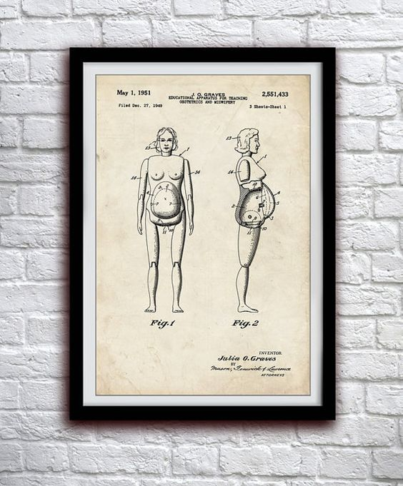 Birthing Dummy 1949  Medical Doctor  Patent by thepatentoffice Probably going to have to happen. :)