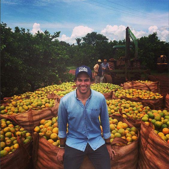 Marcos, o primeiro cansado da mesmice na fazenda do bem™ #dobem