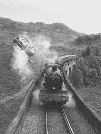Hogwarts Express - Jacobite steam train