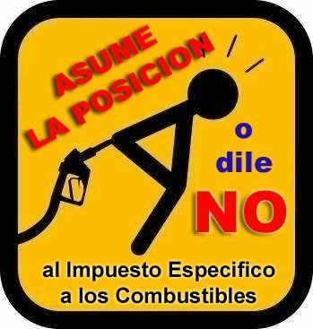 Basta ya de impuestos a los combustibles... :-)