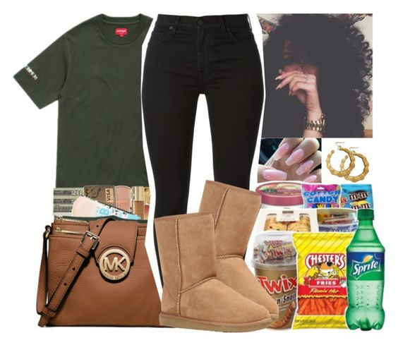 """""""Better call becky with the good hair!"""" by gmboogie ❤ liked on Polyvore featuring 7 For All Mankind and UGG Australia"""