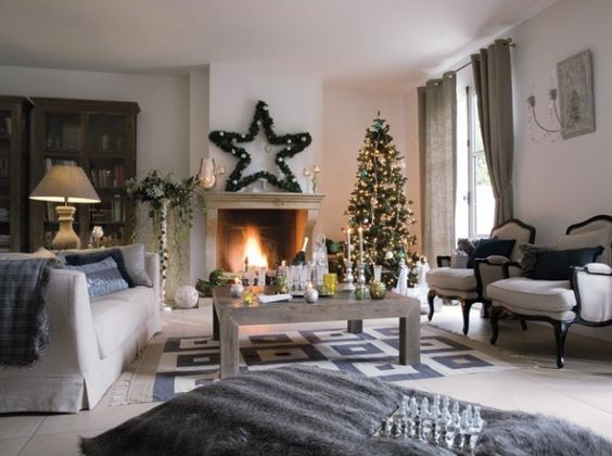 Comment decorer un salon pour noel noel pinterest for Decorer un salon