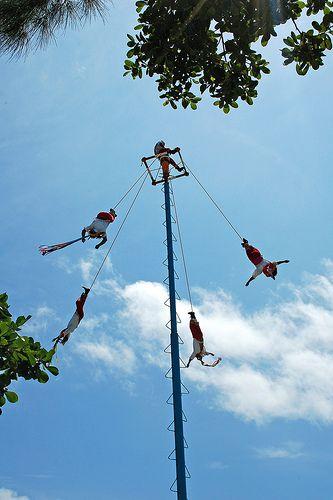 Swinging Men - Tulum, Mexico
