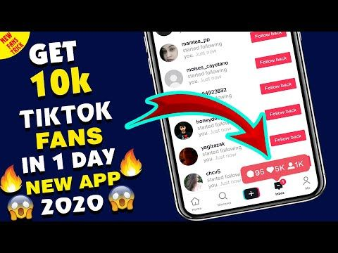 How To Get 10000 Tiktok Followers Everyday 2020 Free Tiktok Followers Hack Youtube Instagram Followers How To Get Heart App