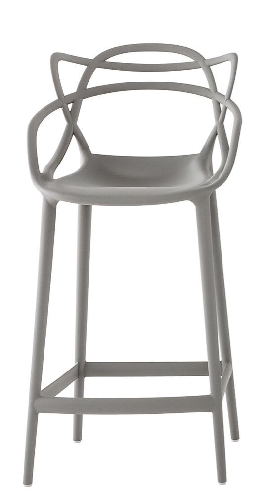 Masters Bar Chair H 65 Cm Polypropylen By Kartell Classic Chair Design Famous Chair Kartell,High End Designer Shoes