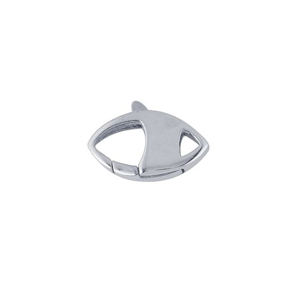 Sterling Silver Marquise Lobster Clasp