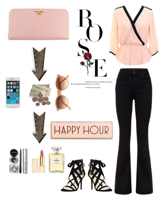 """""""Though her beauty astounds the media, her heart captivates the world."""" by abbieblwilko on Polyvore featuring Citizens of Humanity, Nine West, Prada, kalalou, Bobbi Brown Cosmetics, Tory Burch, Chanel, Ray-Ban and Rosanna"""