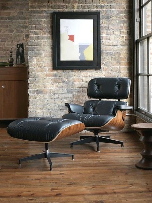 High Quality Style With Eames Chairs 25 Pics Interiordesignshome Com Eames Designed For A High End Market Furniture Interior Design Furniture Design
