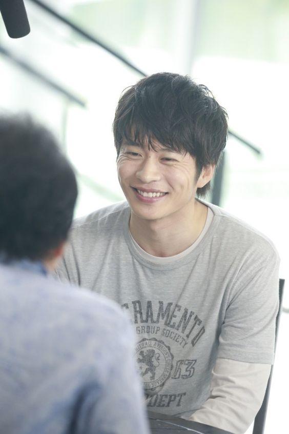 笑顔が可愛い田中圭