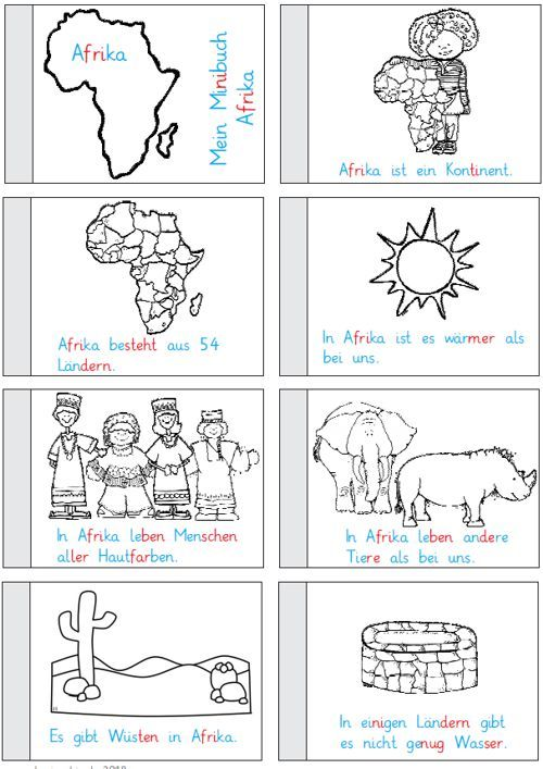 Lernangebote Afrika Jahrgang 1 Und 2 Geographie Fur Kinder