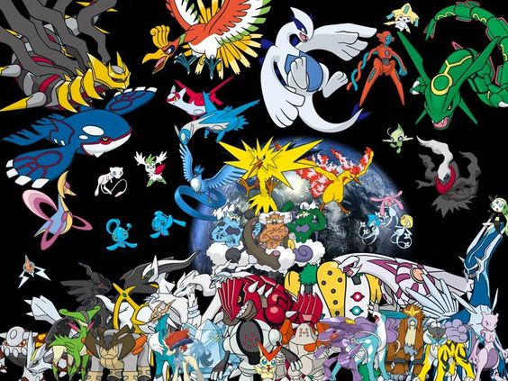 Legendary pokemon wallpaper legendary pokemon by trekobius on