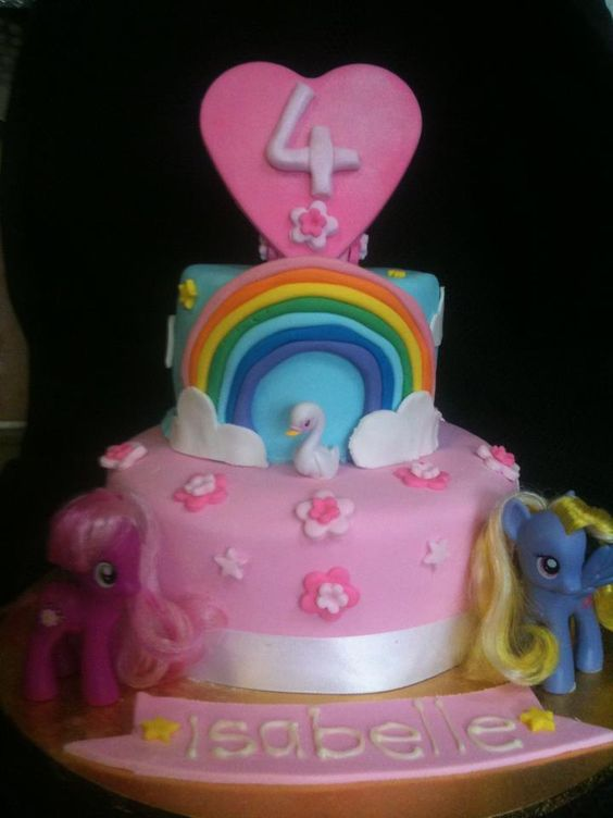 ... daughters 2nd birthday ideas my little pony cake pony cake my daughter