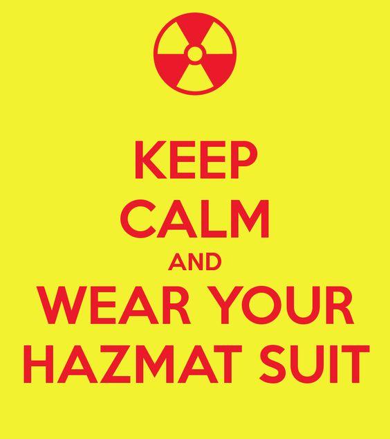 Image result for decontamination suits joke