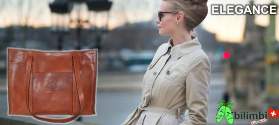 ELEGANCE  Suchen Sie ein schicker Begleiter für Ausgang, Geschäftsreise oder Arbeit? Sie passt zu jedem Look und strahlt durch seine edle Form Eleganz aus.