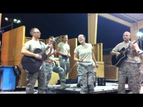 Angie Johnson Rolling in the Deep-Military cover