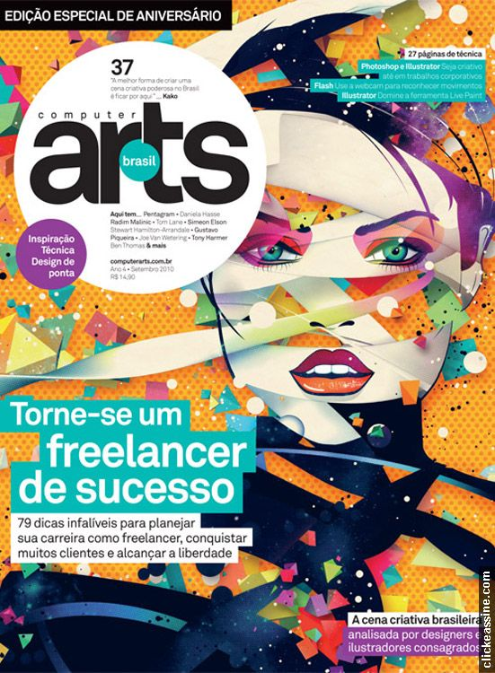 Capa da revista Arts