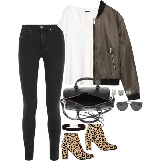 Untitled #1598 by samikayy76 on Polyvore featuring moda, H&M, Zara, Acne Studios, Yves Saint Laurent, Topshop, Christian Dior, women's clothing, women's fashion and women